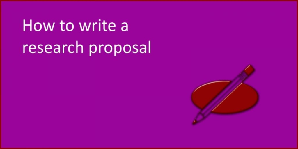 Help to write a research proposal